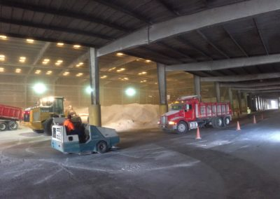 GreenSpar Delivered to Warehouse in Savannah